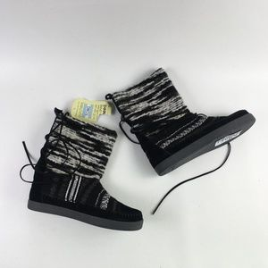 Toms Black Suede Nepal Boot H6414860